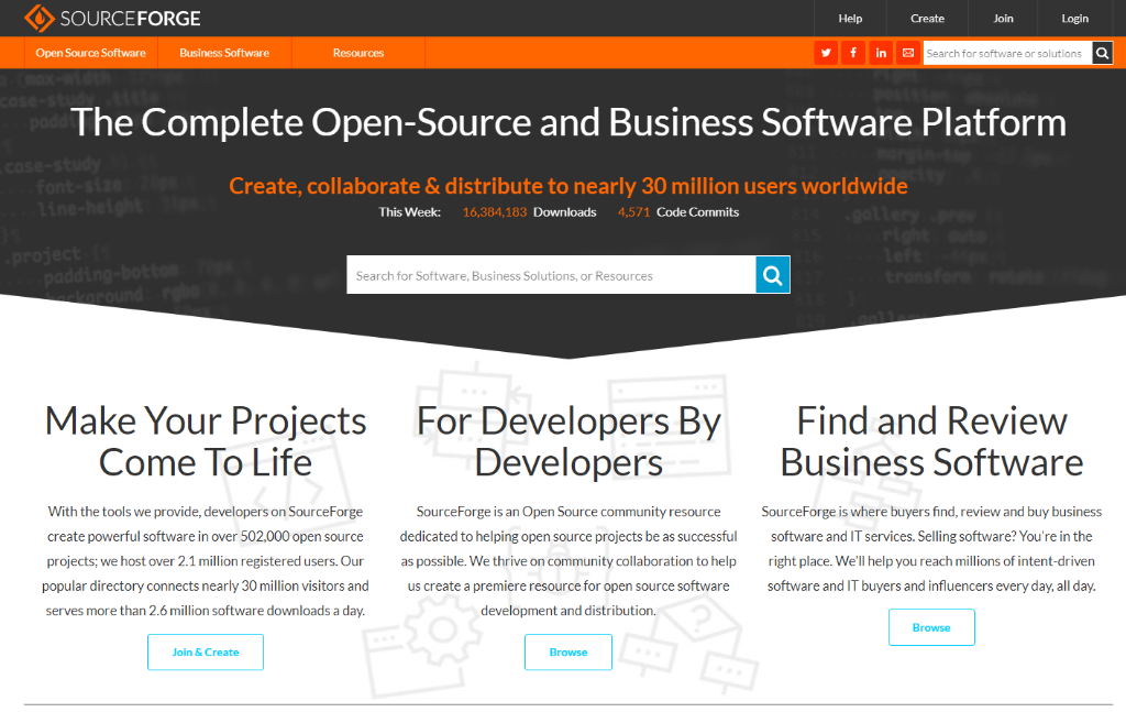 The Story of SourceForge