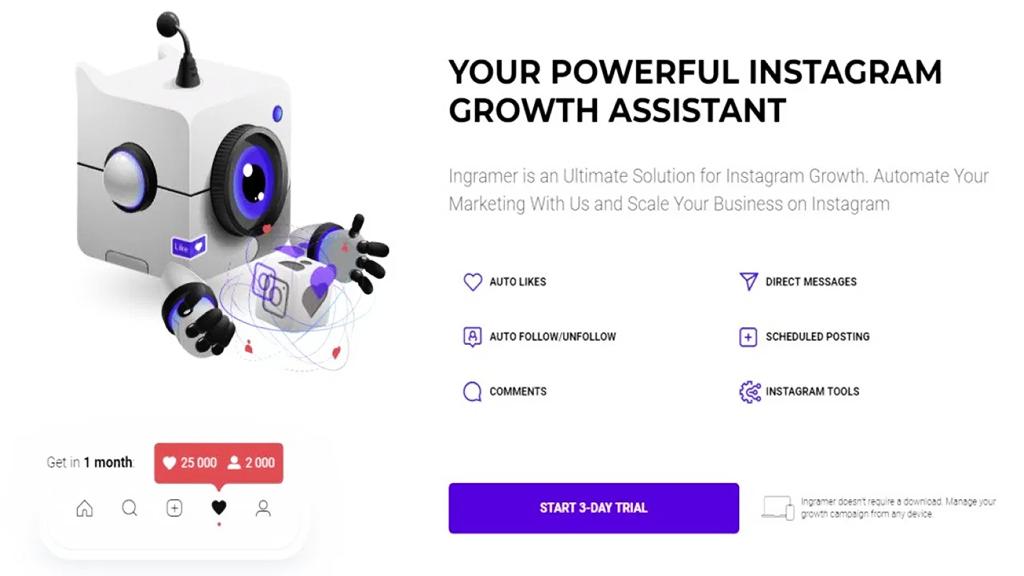 Ingramer - Auto DMs Instagram Bot