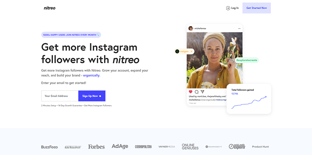 Nitreo - Safest Instagram Bot