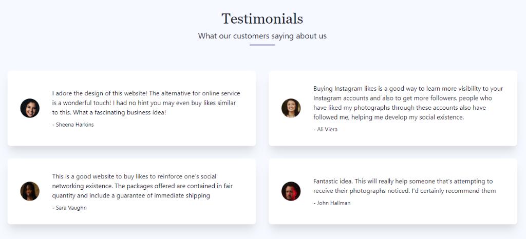 SocialViral Testimonials