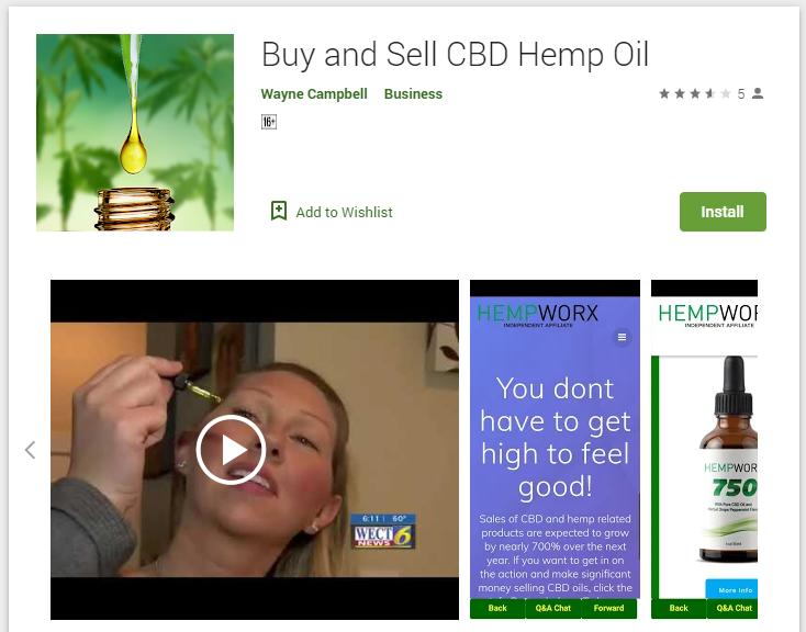 Buy and Sell CBD Hemp Oil
