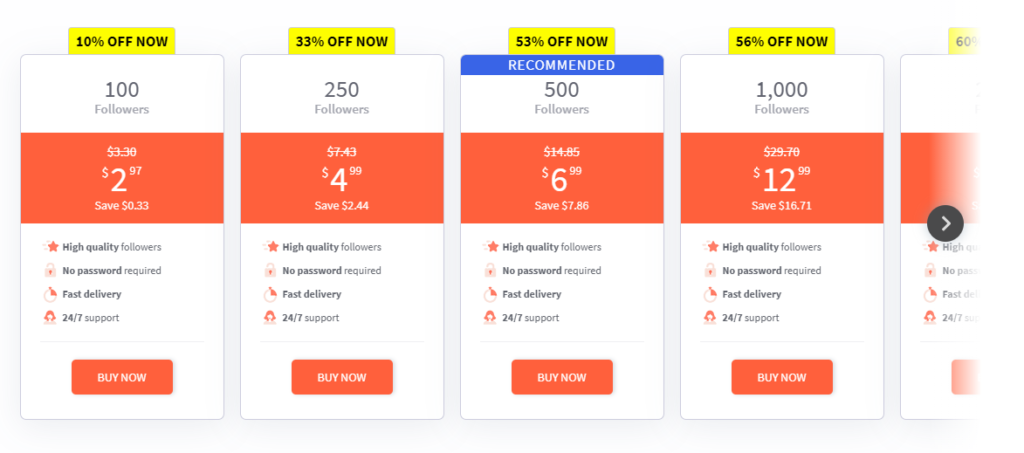 Buzzoid Pricing