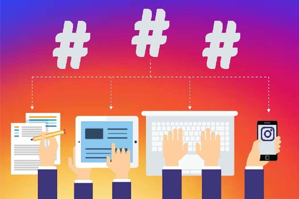 Hashtags post