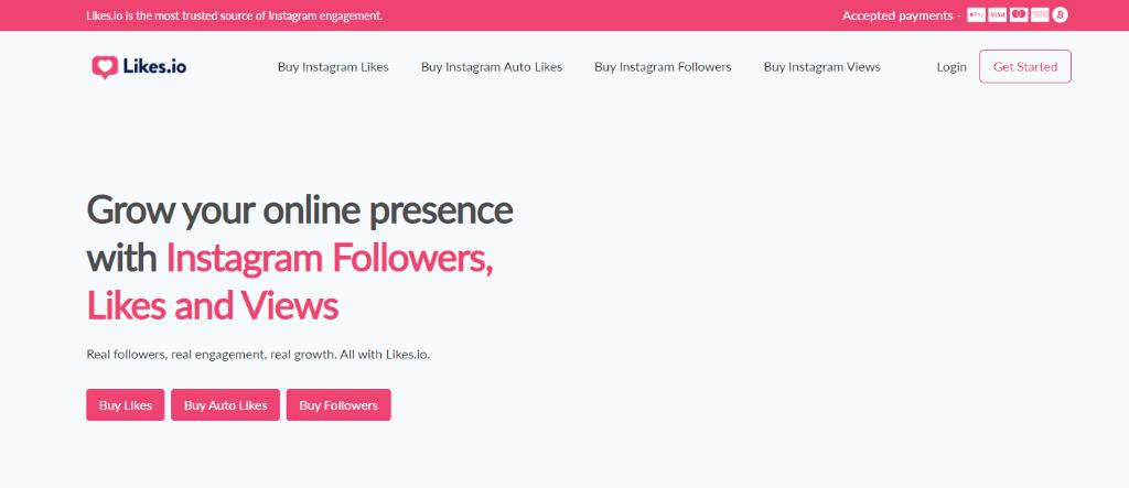 Likes - Buy Instant Followers