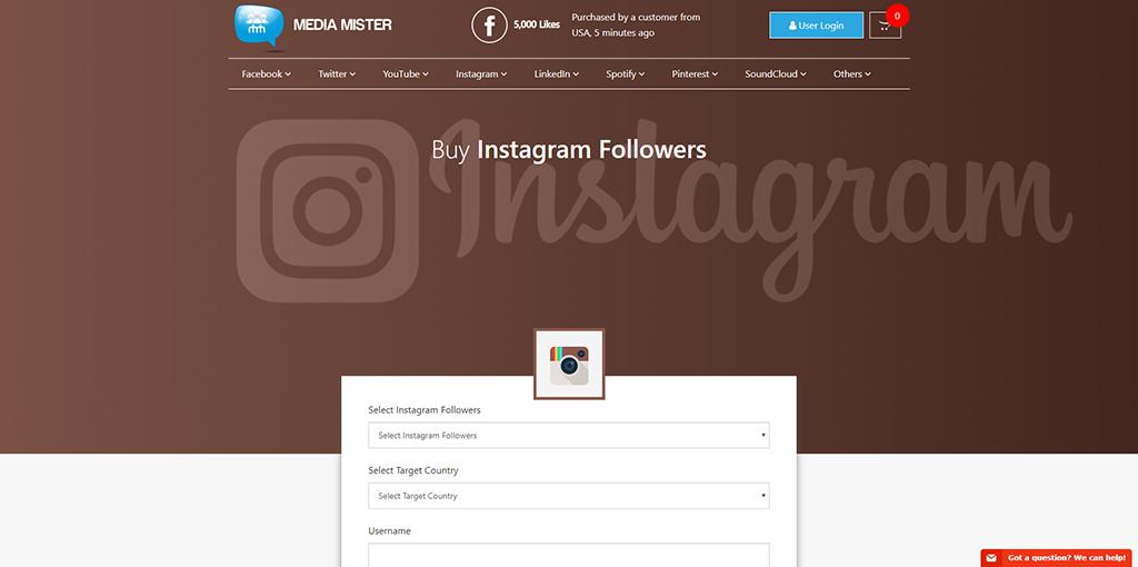 Media Mister - Instagram