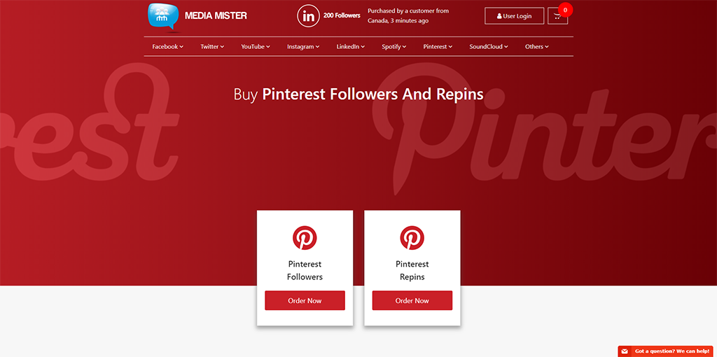 Media Mister - Pinterest