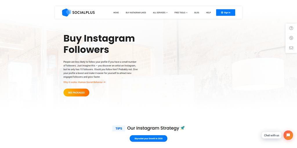 SocialPlus - Instagram