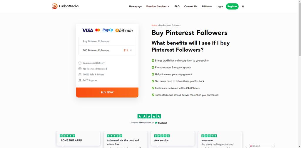 Turbo Media Pinterest