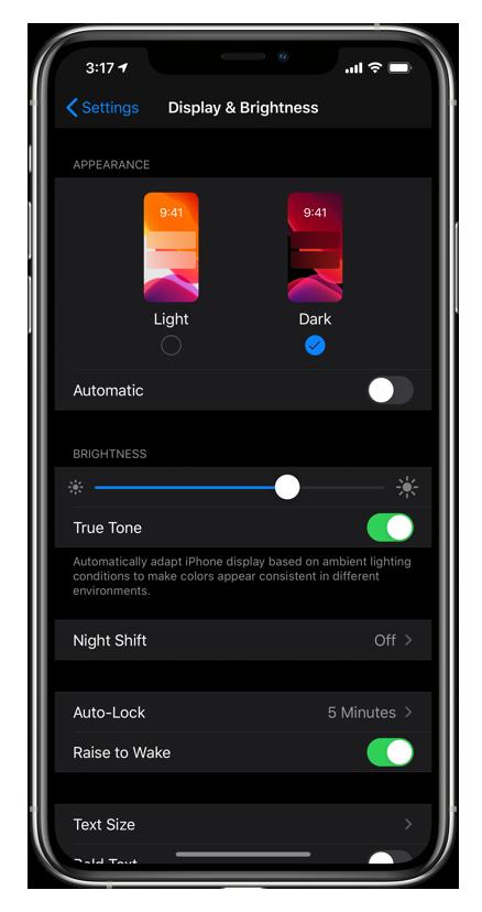 Accessing Instagram Dark Mode