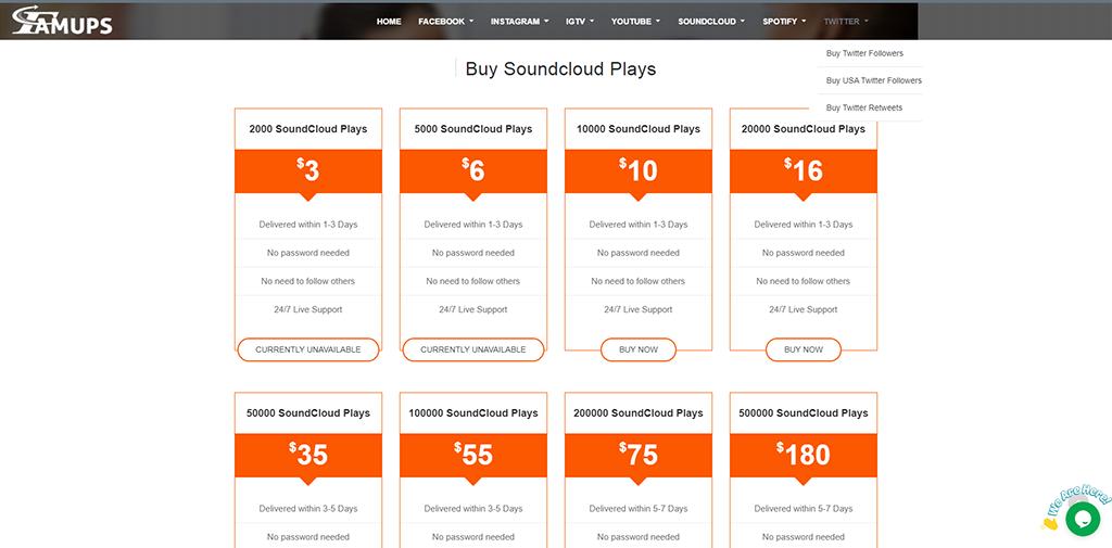 Famups - Soundcloud
