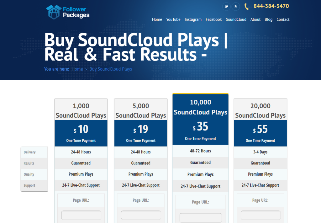 Follower Packages SoundCloud