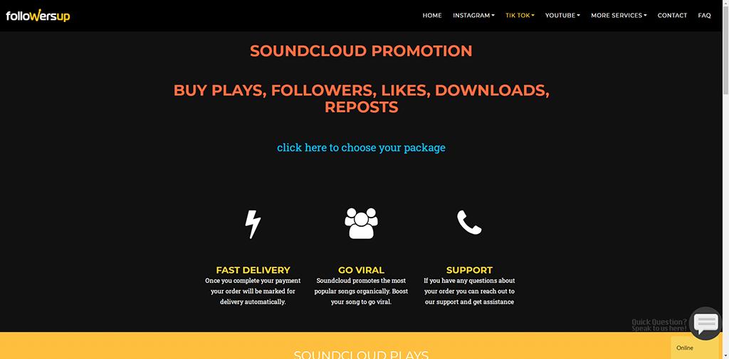 Followersup - Soundcloud