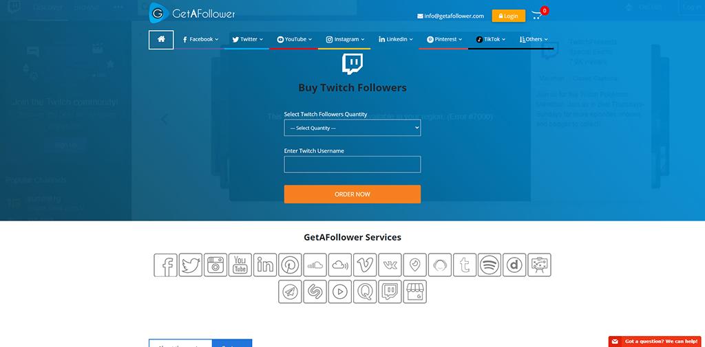 Get a Follower-Twitch