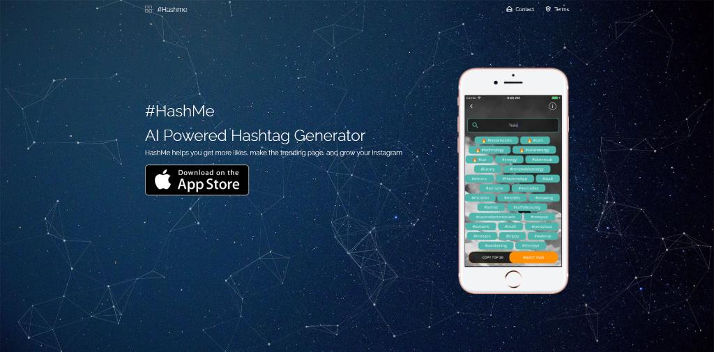 #HashMe Hashtag Generator