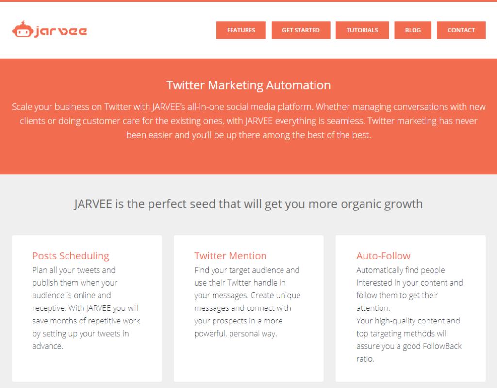 Jarvee Twitter Marketing Automation