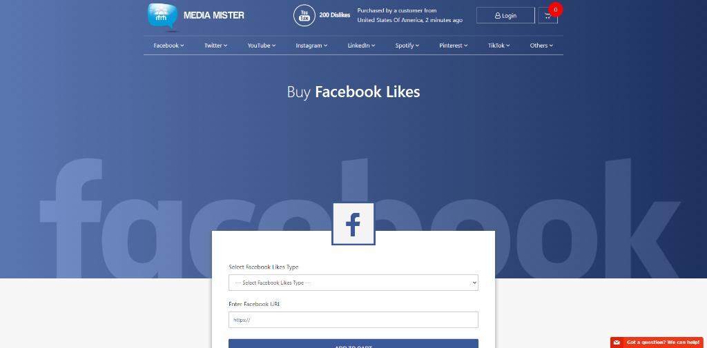 Media Mister Facebook