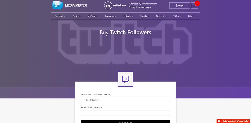 Media Mister-Twitch