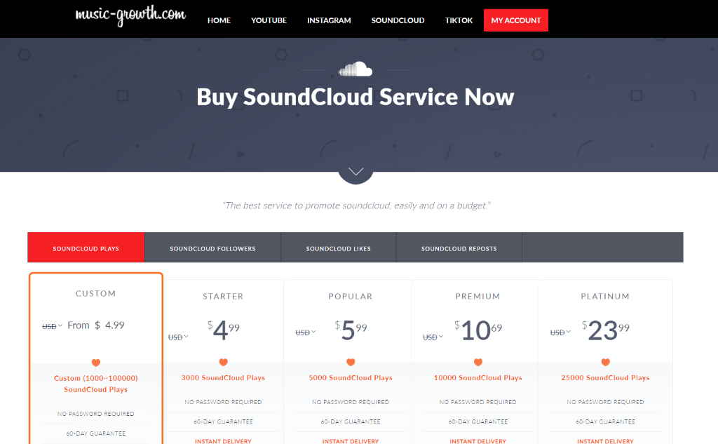 Music-Growth SoundCloud