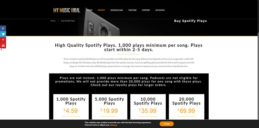My Music Viral - Spotify