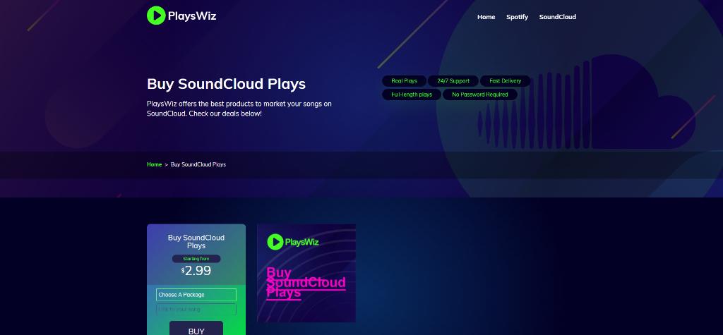 PlaysWiz SoundCloud