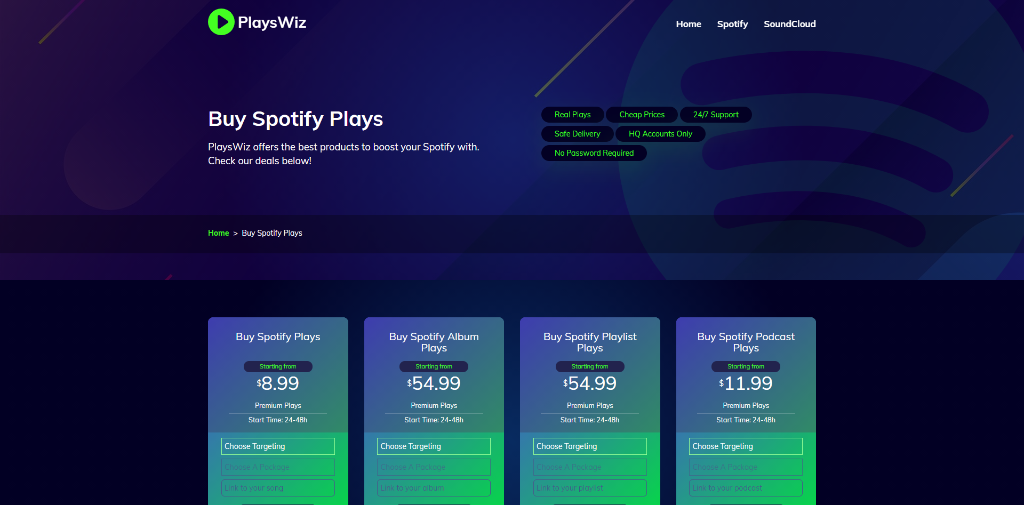 PlaysWiz Spotify