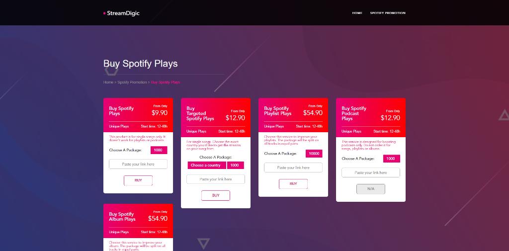 StreamDigic Spotify