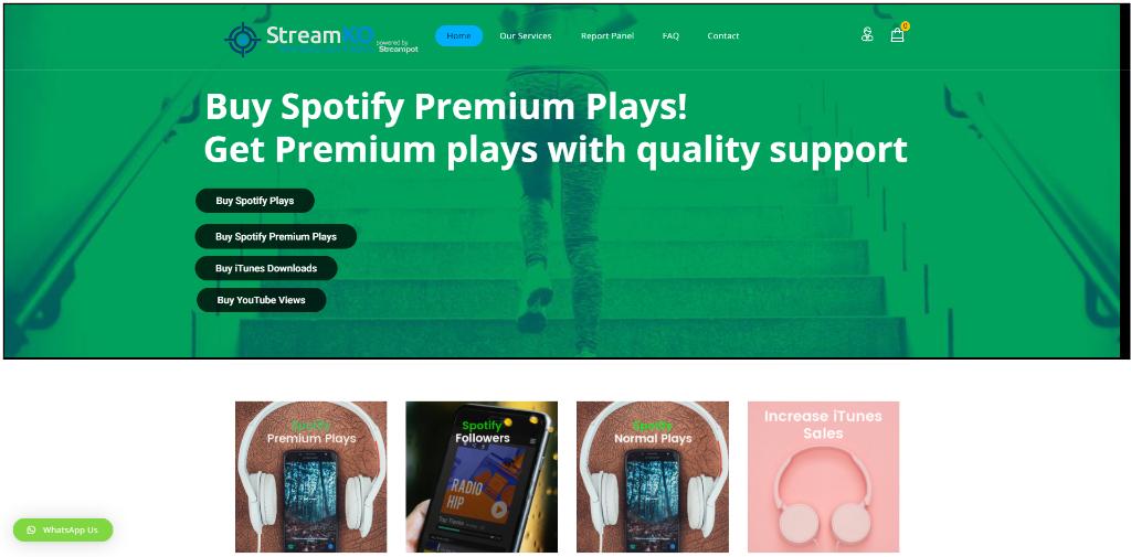 StreamKO Spotify