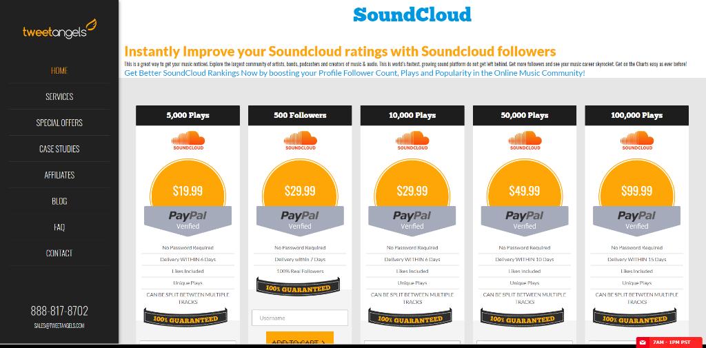 Tweetangels SoundCloud
