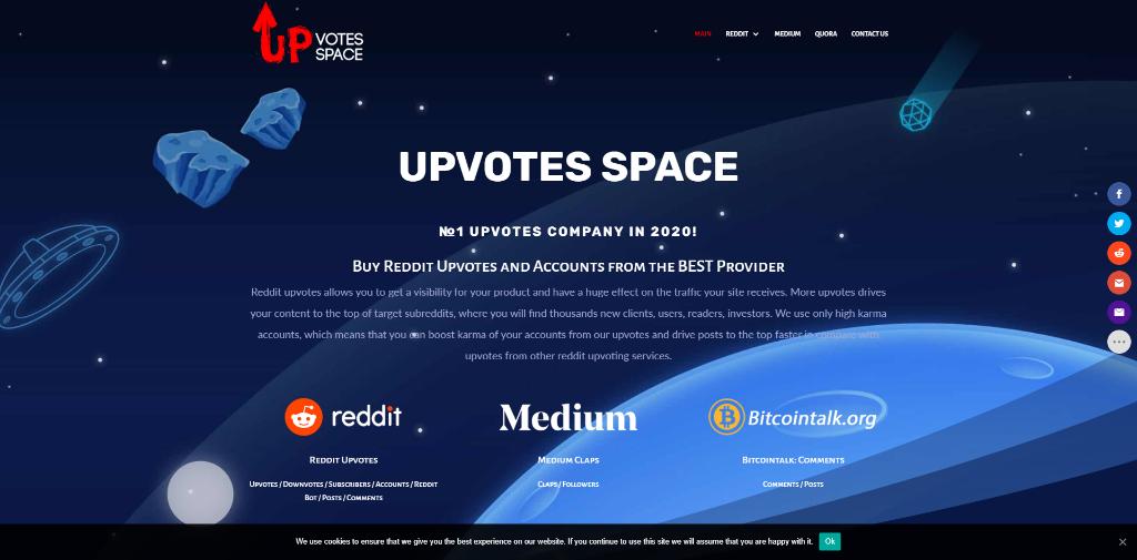 Upvotes Space