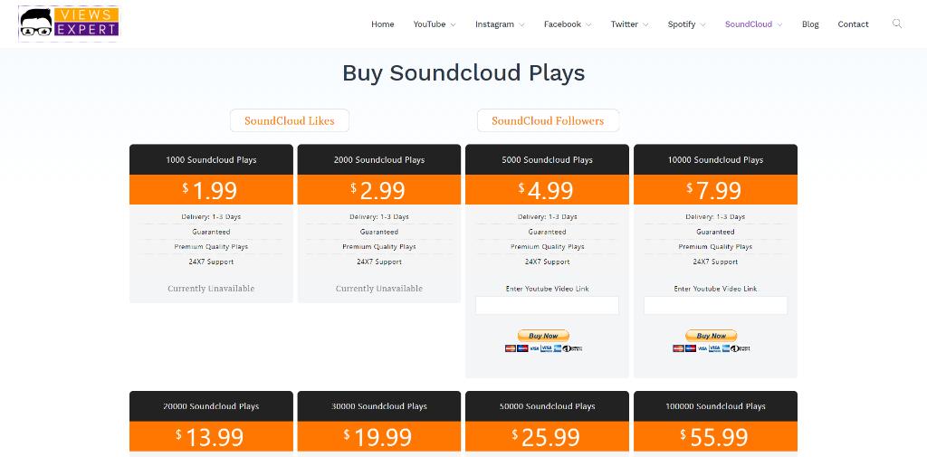 Views Expert SoundCloud