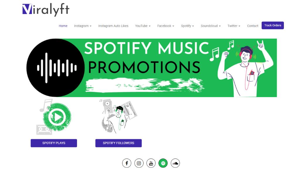 Viralyft Spotify