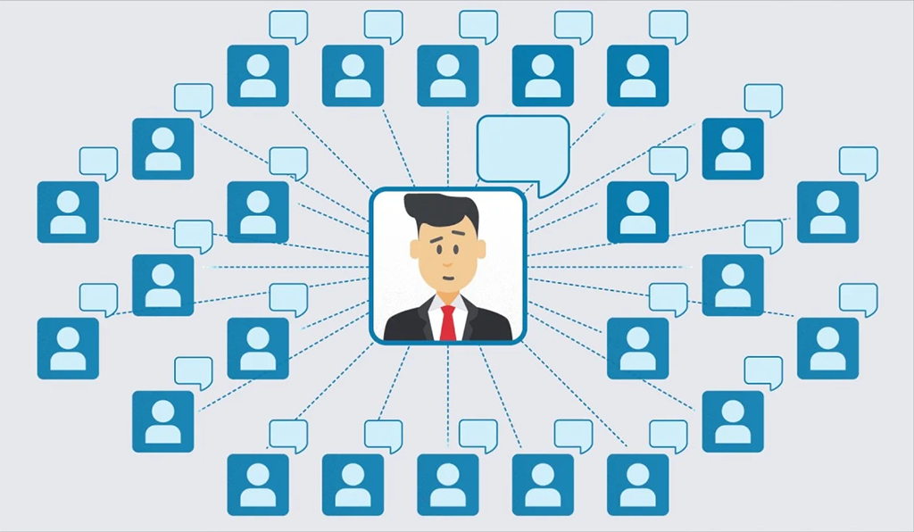 Connection on LinkedIn