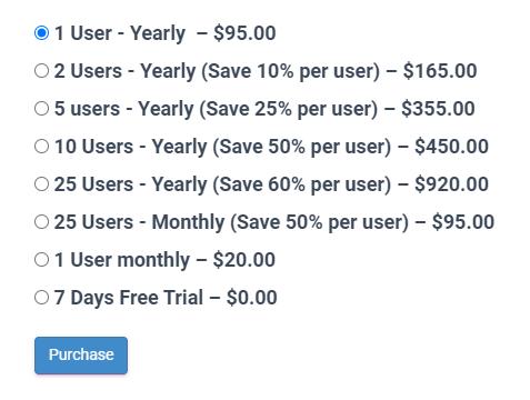 GPZWEB Pricing
