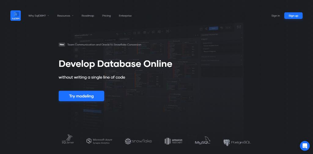 SQL Database Modeler