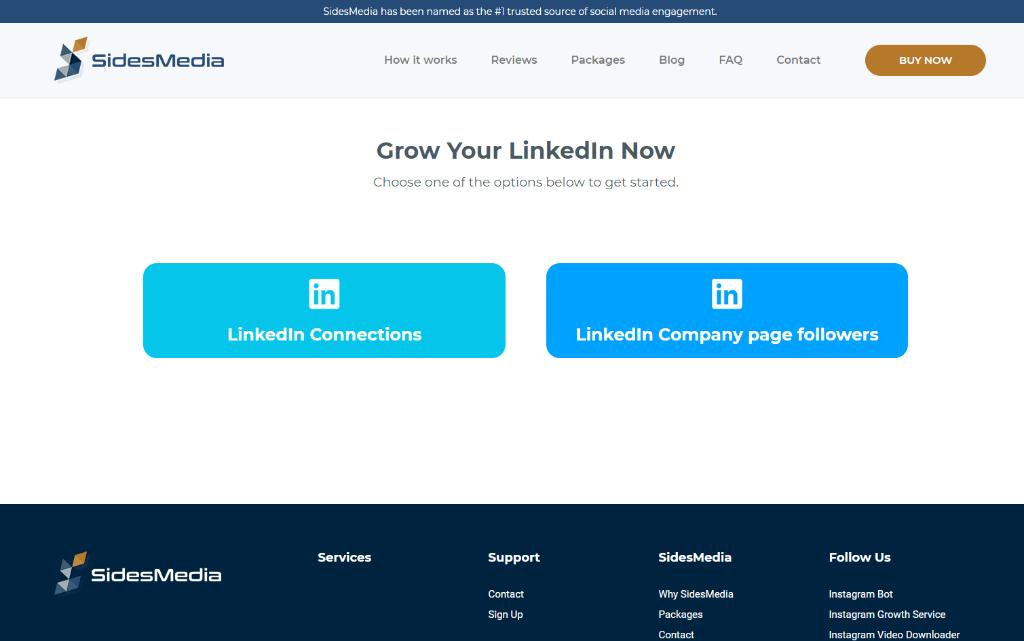 SidesMedia LinkedIn