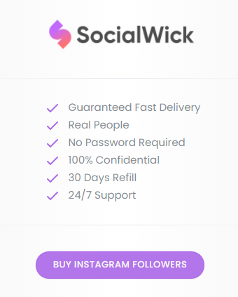 SocialWick Instagram