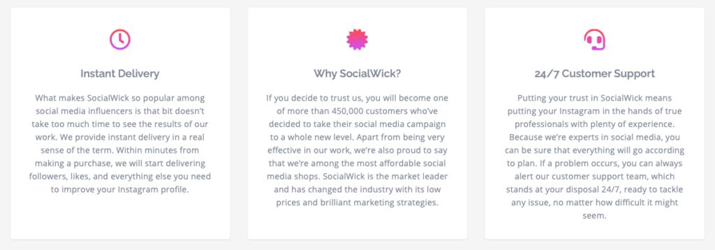 SocialWick Market