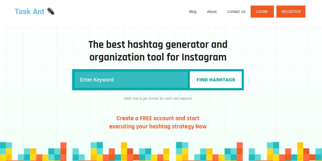 Task Ant – The World's Best Hashtag Generator?