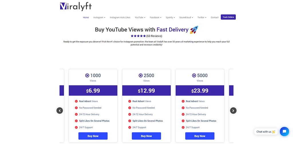 Viralyft-YouTube