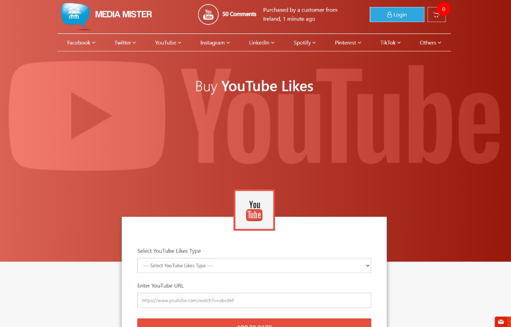 Media Mister YouTube Likes