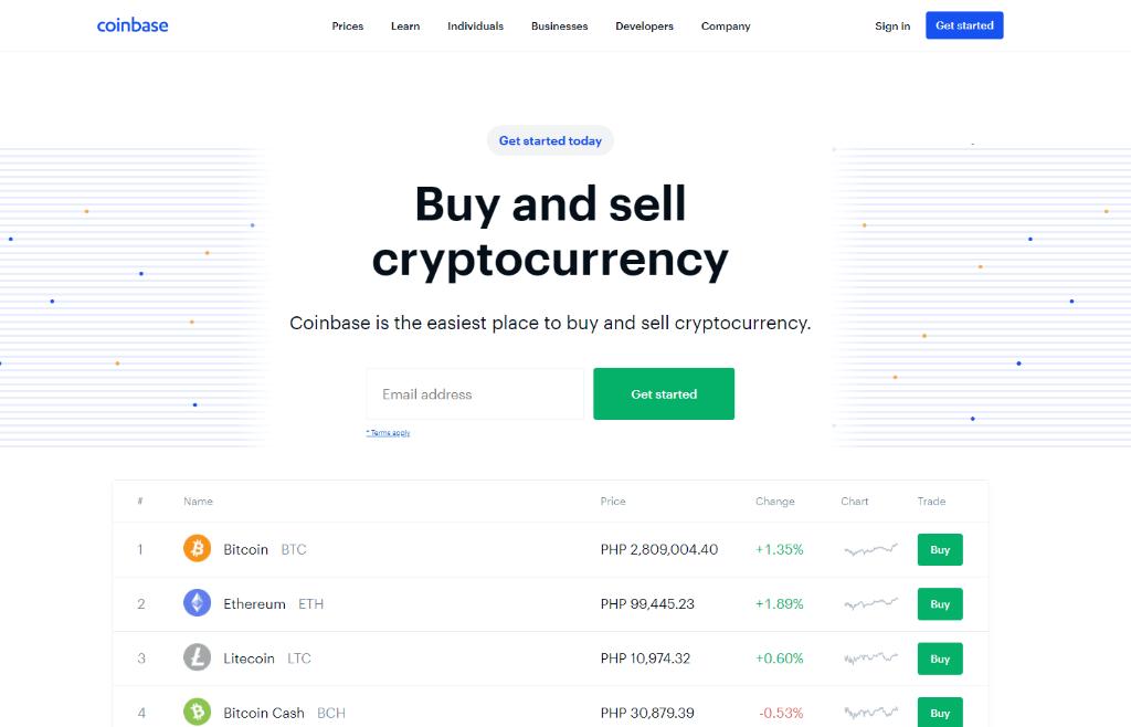 Top Coinbase Alternatives