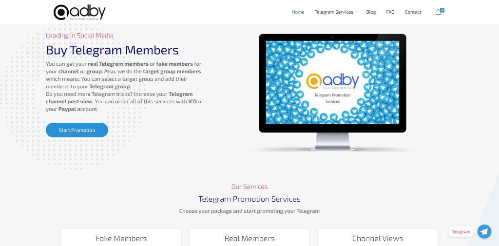 Adby Telegram Members