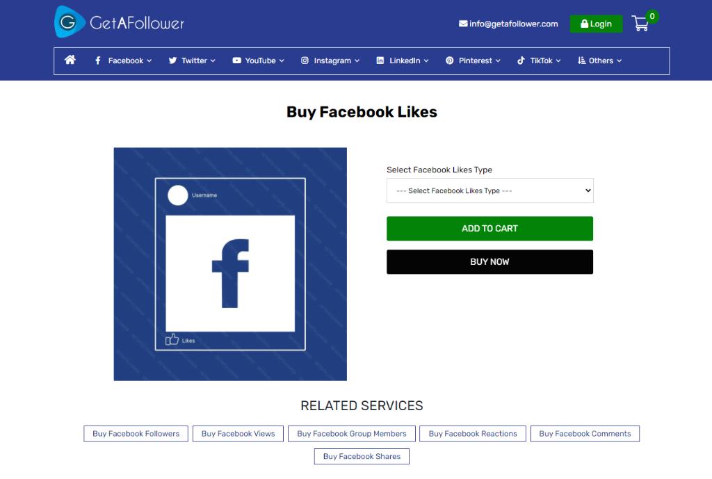 Get a Follower Facebook Likes