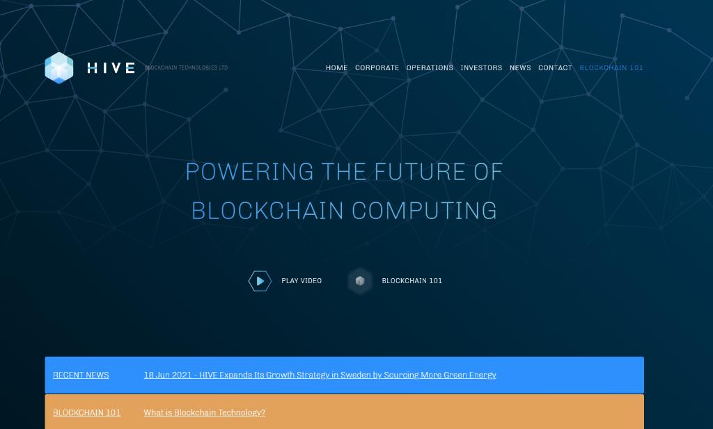 Hive Blockchain Plans to List Shares on Nasdaq