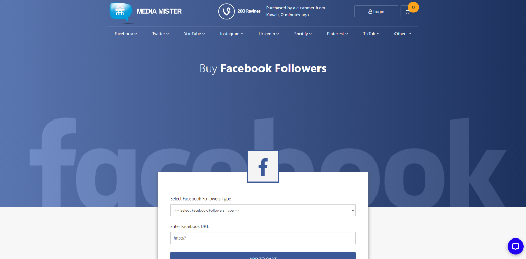 Media Mister Facebook Followers