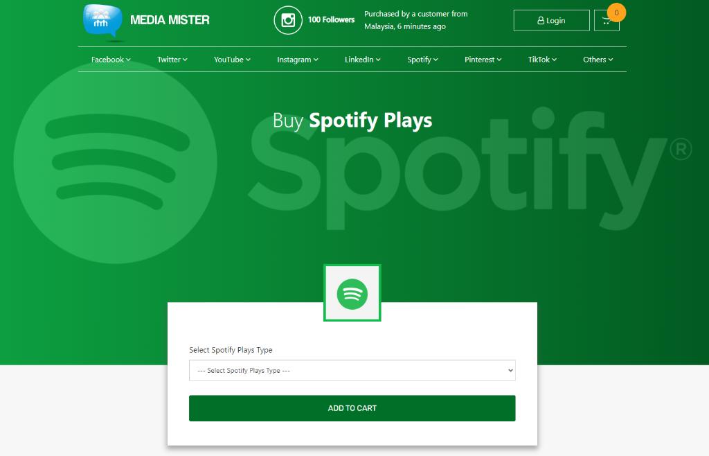 Media Mister Spotify Plays