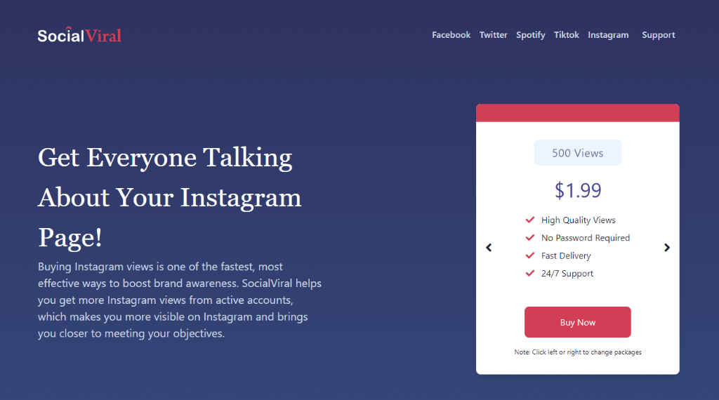SocialViral Instagram Views