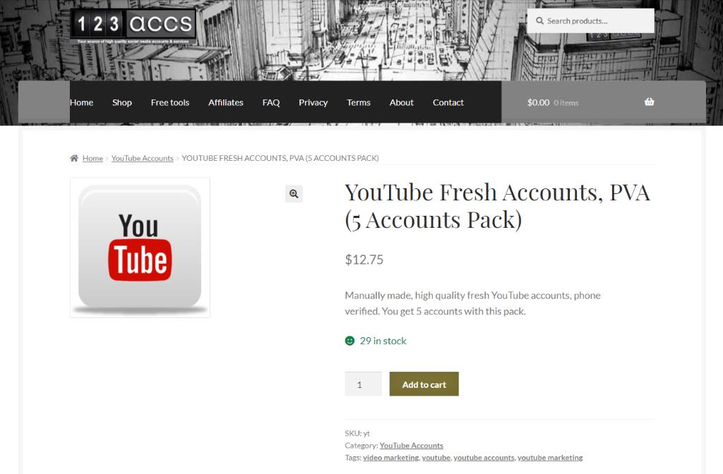 123accs Youtube