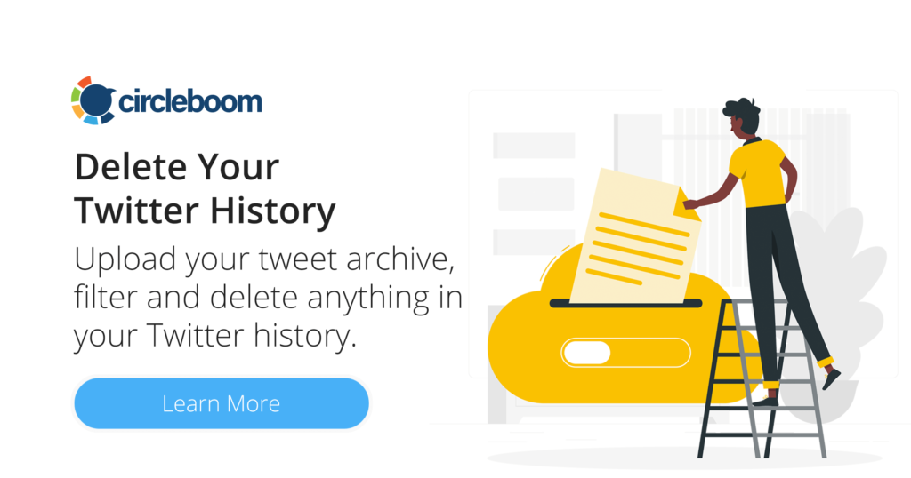 Circleboom Delete Twitter Archive