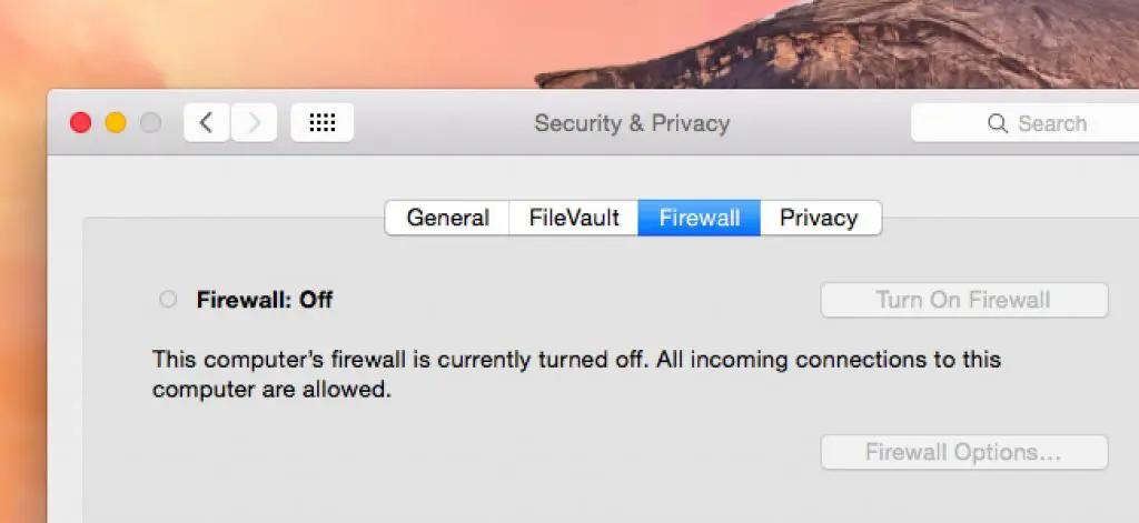 Firewall Service